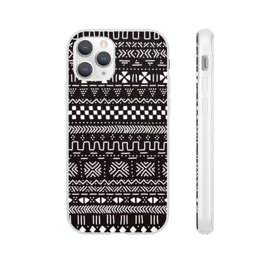 Tribal African Tribal Flexi Cases - iPhone 11 Pro - Phone Case