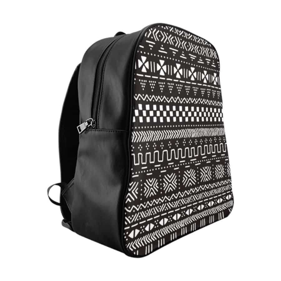 Tribal African Mud cloth School Backpack - Bags