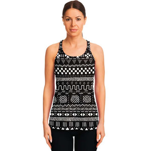 Tribal African Muth cloth Racerback Tank - Women's