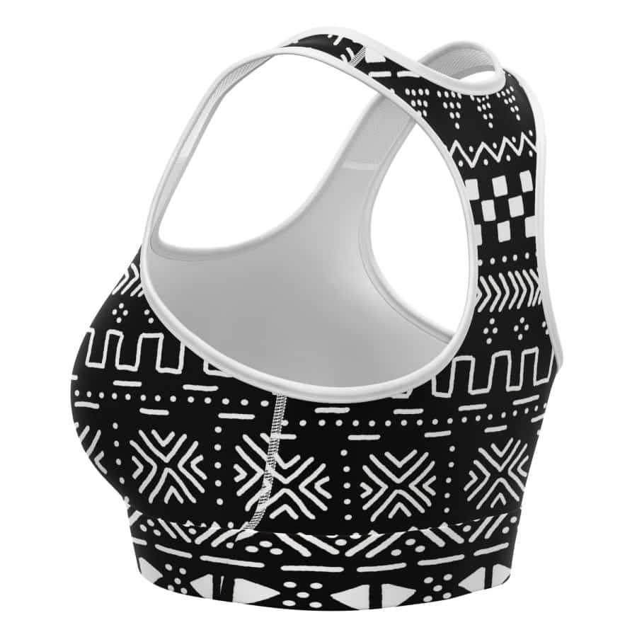 Tribal African muth cloth Sports Bras - Women's
