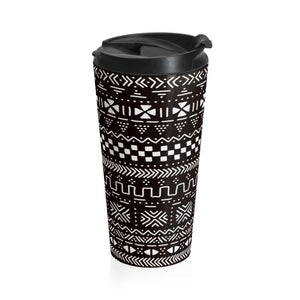 Tribal African Tribal Stainless Steel Travel Mug - Mug