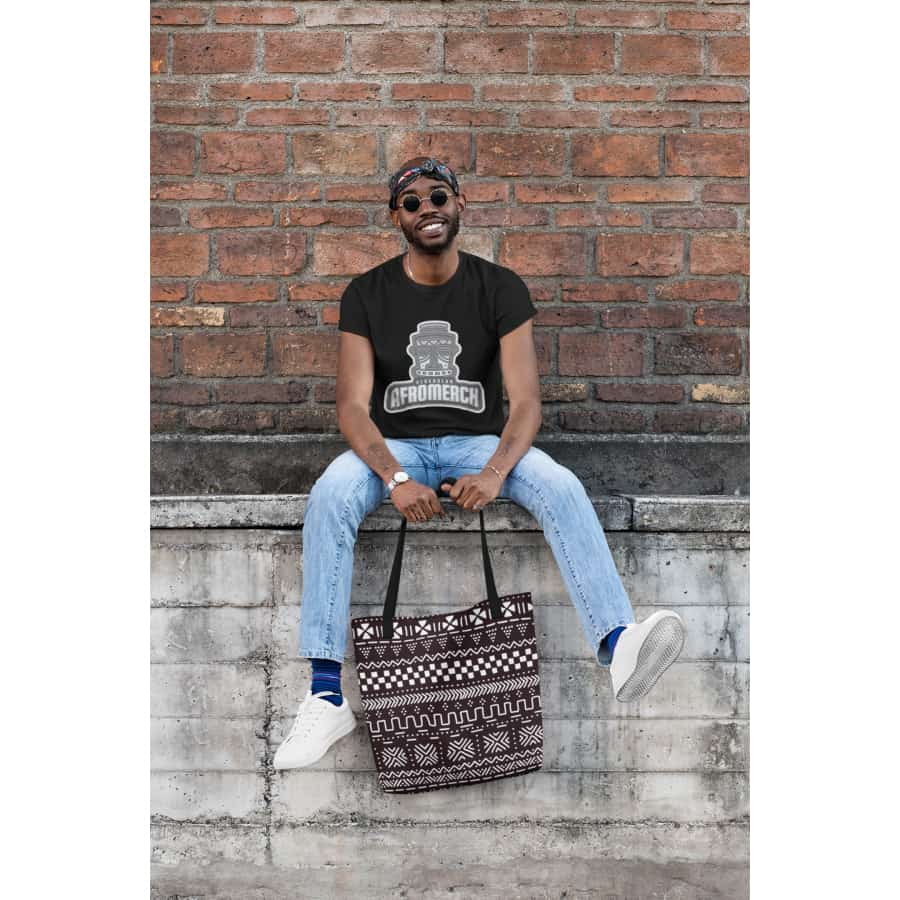 Tribal African AOP Tote Bag - Bags