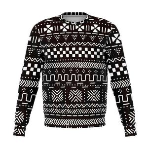 Tribal Afrocentric Sweatshirt - S - Athletic Sweatshirt - AOP