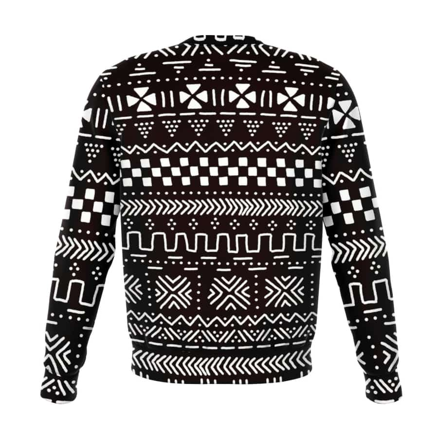 Tribal Afrocentric Sweatshirt - Athletic Sweatshirt - AOP