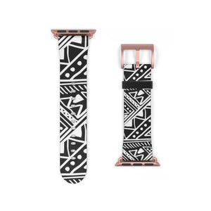 White African Mud Cloth watch Band - Accessories