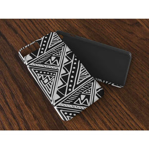 White African Tribal Mud-cloth Flexi Phone cases - iPhone 8 - Phone Case
