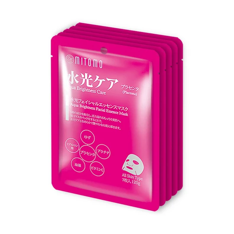 MITOMO Special 5 Weeks Skincare Placenta Snowing Care Facial Essence Mask 35pcs/JSM-MT101-C-4x005