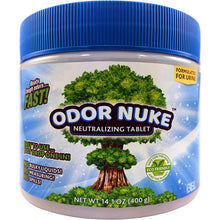Load image into Gallery viewer, ODOR NUKE™ Tablets: Human Urine Odor Destroyer (14.1oz)