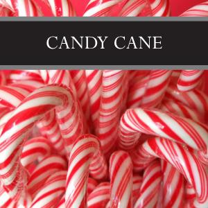 Candy Cane Candle