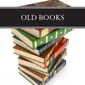 Old Books 3-Pack Bar Soap