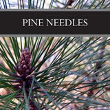 Pine Needles Sugar Scrub
