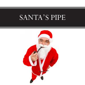 Santa's Pipe Candle