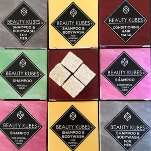 BeautyKubes Shampoo, Body Wash & Conditioner