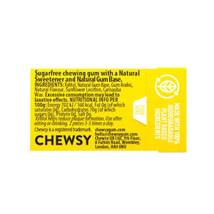 Chewsy plastic free natural gum