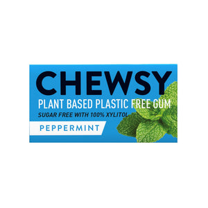Chewsy plastic free natural gum peppermint
