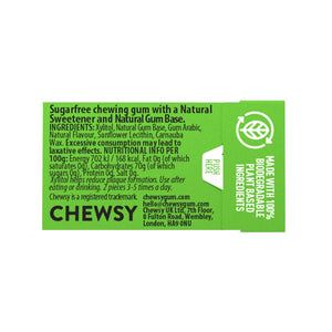 Chewsy plastic free natural gum spearmint