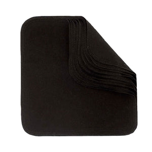 ImseVimse Reusable Cotton Wipes Black