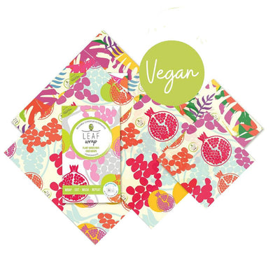 Leaf Wrap Vegan Mixed Pack All Prints