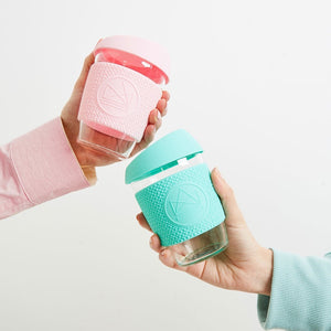 NeonKactus Coffee To Go Cups Mint Green and Pink