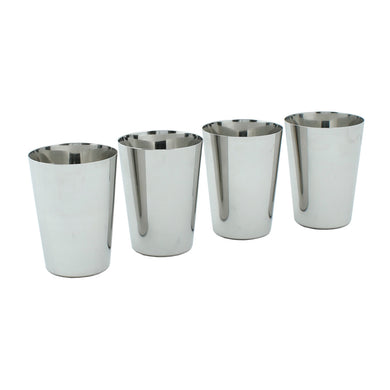 Slice Of Green Stainless Steel Cups