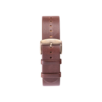 Buy watches online / Watch BELT 20 MM - BROWN LEATHER - maison-inland - resistant watches classy luxirious design