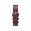 Buy watches online / watch BELT 20 MM - BROWN LEATHER - maison-inland - rough watches