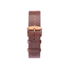 Buy watches online / Watch BELT 20 MM - BROWN LEATHER - maison-inland - vintage watches resistant online