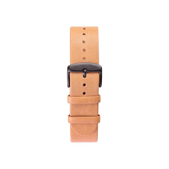 Buy design watches online / Watch BELT 20 MM - NATURAL LEATHER - maison-inland / classy retro resistant waterproof watches elegant online