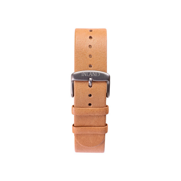 Buy watches online / Watch BELT 20 MM - NATURAL LEATHER - maison-inland - best quality watches online canada made