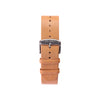 Buy design watches online / Watch borwn BELT 20 MM copper buckle - NATURAL ITALIAN LEATHER - maison-inland - buy classy resistant watches online