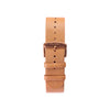 Buy watches online / Watch BELT 20 MM - NATURAL LEATHER BROWN BUCKLE- maison-inland / classy elegant trendy durable watches online