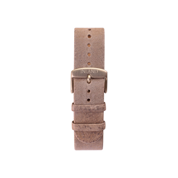 Buy watches online shipping worldwide / Watch BELT 20 MM - RUSTIC GREY ITALIAN LEATHER VINTAGE - maison-inland - awesome design watches online