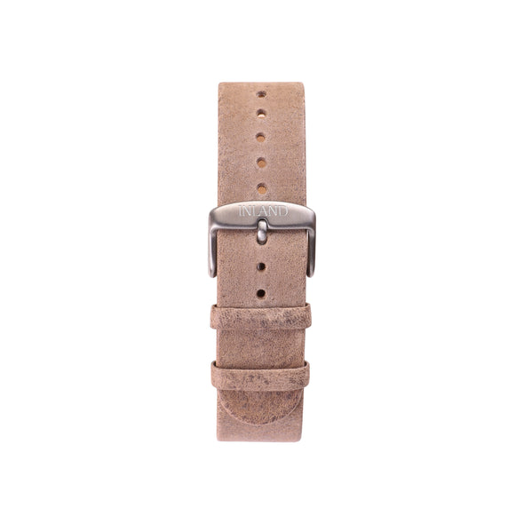 Buy vintage watches online shipping worldwide / Watch BELT 20 MM - RUSTIC GREY LEATHER - maison-inland - magnific design online watch store shop