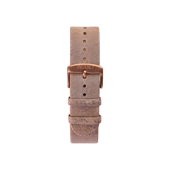 BELT 20 MM - RUSTIC GREY LEATHER - maison-inland