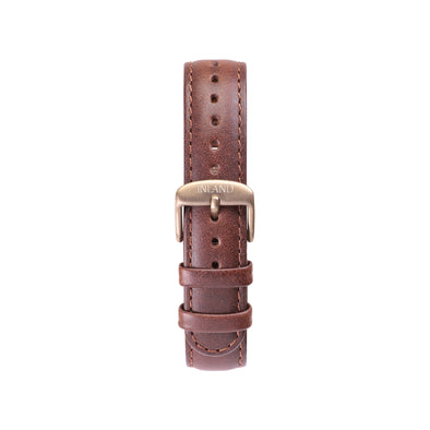 CLASSIC 16 MM - BROWN LEATHER - maison-inland