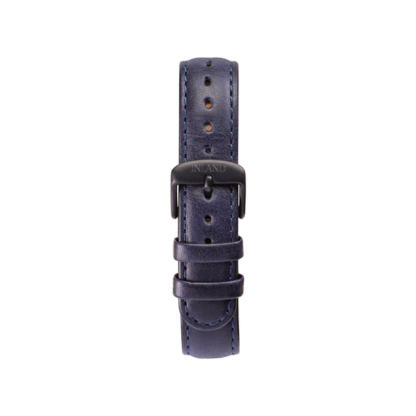 CLASSIC 16 MM - NAVY LEATHER - maison-inland