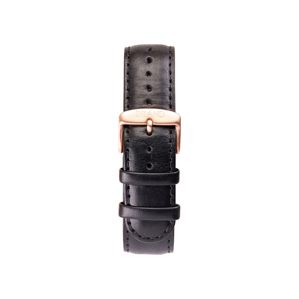 CLASSIC 20 MM - BLACK LEATHER - maison-inland