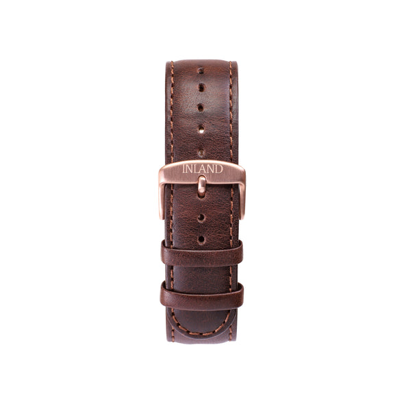 CLASSIC 20 MM - BROWN LEATHER - maison-inland