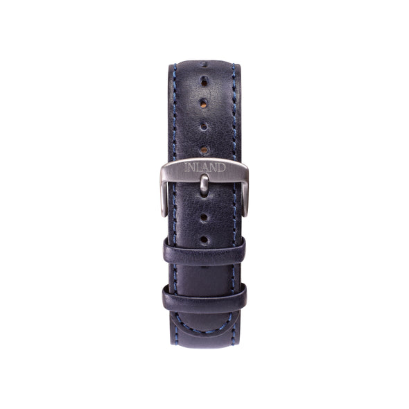 CLASSIC 20 MM - NAVY LEATHER - maison-inland