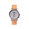 Buy casual design watches online shipping worldwide / Watch THE AUGUST - GREY / GREY - maison-inland  goes with all - best designed watch shop online quality classical elegant stylish resistant wristwatches / made in Canada