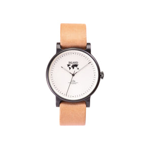 Buy great design women watches online shipping worldwide / Watch THE JUNE - BLACK / CREAM - maison-inland / goes with all - best designed watch shop online quality classical elegant stylish resistant wristwatches / top quality watches North American tasteful design