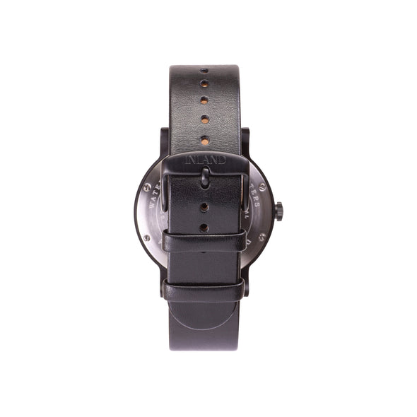 Buy amazing design woman watches online shipping worldwide / Watch THE JUNE - BLACK in BLACK - maison-inland / goes with all - best designed watch shop online quality classical elegant stylish resistant wristwatches / top quality watches made in North America