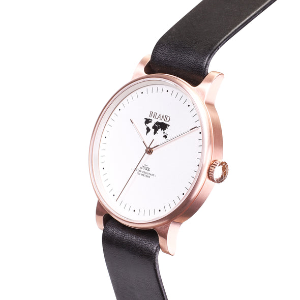 THE JUNE - ROSE GOLD / WHITE - maison-inland