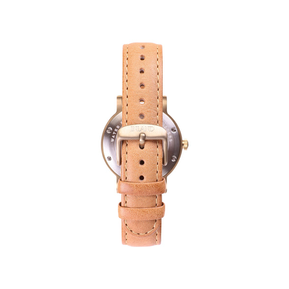 Buy exclusive design women watches online shipping worldwide / Watch THE JUNE PETITE - ANTIQUE GOLD / DUCK GREEN - maison-inland  goes with all - best designed watch shop online quality classical elegant stylish resistant wristwatches / gorgeous resistant waterproof top quality design made in North America