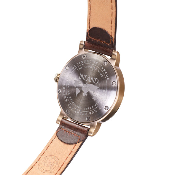 Buy exclusive and classy women watches online shipping worldwide / Watch THE JUNE PETITE - ANTIQUE GOLD / GREY - maison-inland /  goes with all - best designed watch shop online quality classical elegant stylish resistant wristwatches / gorgeous top quality Canadian design