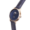 Buy exclusive and cosmopolitan women watches online shipping worldwide / Watch THE JUNE PETITE - ANTIQUE GOLD / NAVY - maison-inland /  goes with all - best designed watch shop online quality classical elegant stylish resistant wristwatches / urban top quality watch 100% Canadian exquisite taste design