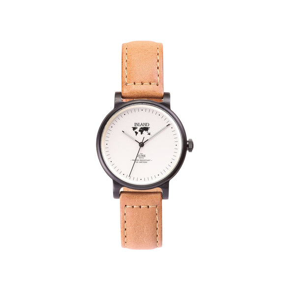 Buy woman's elegant business watches online shipping worldwide / Watch THE JUNE PETITE CLASSIC - BLACK / CREAM - maison-inland / versatile - carefully designed watch shop online quality classical elegant stylish resistant wristwatches / urban high quality watches great Northern design