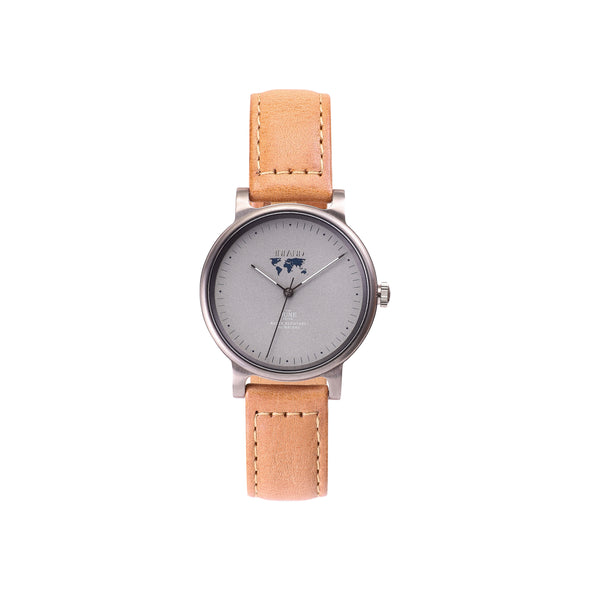 Purchase carefully designed women wristwatches online worldwide shipping / Watch  THE JUNE PETITE - GREY / GREY - maison-inland  / versatile - carefully designed watch shop online quality classical elegant stylish resistant wristwatches / elegant high quality watches great Canadian style