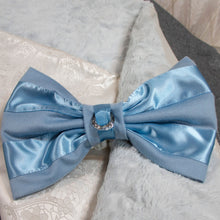 Load image into Gallery viewer, Blue Ivory Damask Elegance Baby Bunting_Jade + Jayne Boutique