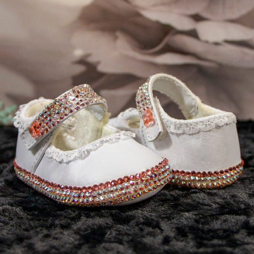 Butterflies & Lace Baby Shoes_Jade + Jayne Boutique
